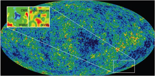 The Coldest Spot In The Universe May Actually Be A Massive Void