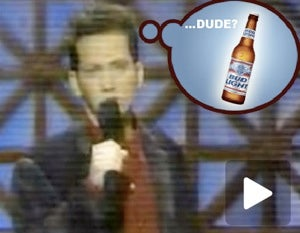 Bud Light Rips Off Once-Funny Comedian