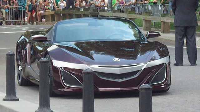Tony Stark gets the Acura of our dreams in The Avengers