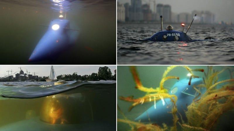 Fascinantes submarinos que parecen salidos de un sueño
