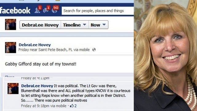 Newtown's State Rep Tells Gabby Giffords to 'Stay Out'