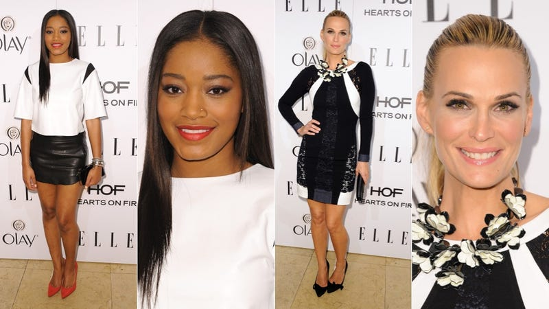 Seriously Pretty Party Dresses at the Elle Women in Television Event