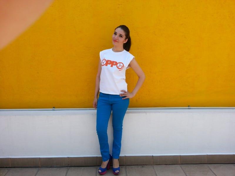 OPPO T-shirt mod for Women :]