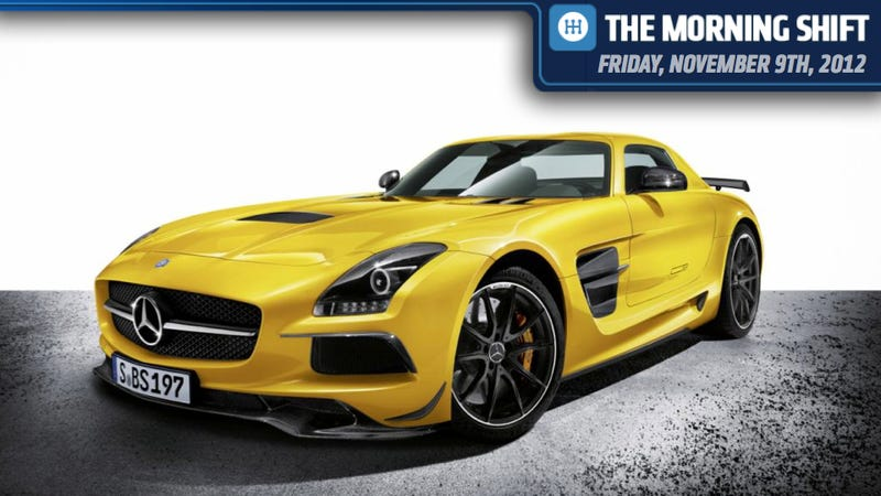 Ford Plants Are Bursting, Mercedes SLS AMG Black Series Is Bright, And Gas Rationing Is A Burden
