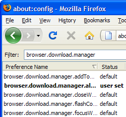 Tweak Firefox 3's Download Manager