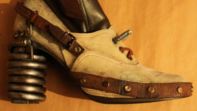Real Portal Boots, Straight From the Victorian Steampunk Heyday