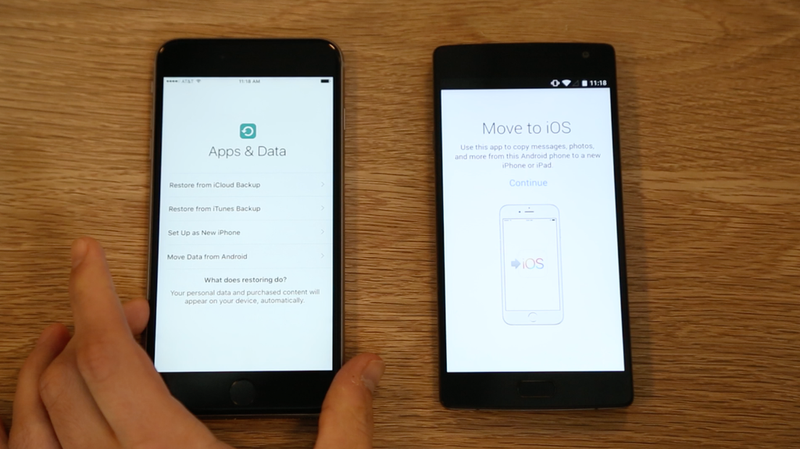 Apple's App To Help You Move to iOS From Android Is Designed for the  Technophobic