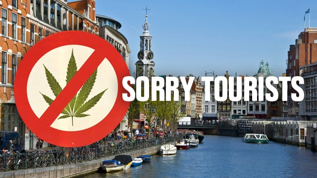 Dutch Court Continues to Ruin Everything, Upholds Law Preventing Sale of Cannabis to Tourists
