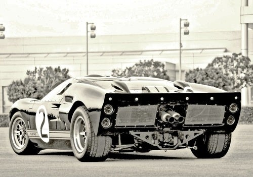 The Ford GT40: From Back When Exhaust Pipes Weren't Styled