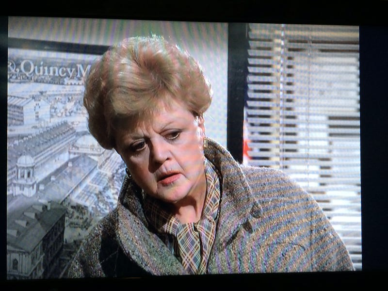 Yeah, Burt. I'm watching Murder She Wrote