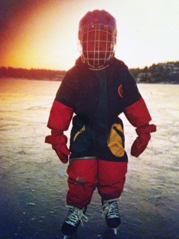 Norwegian Hockey Player Dances Up A Storm After A Win