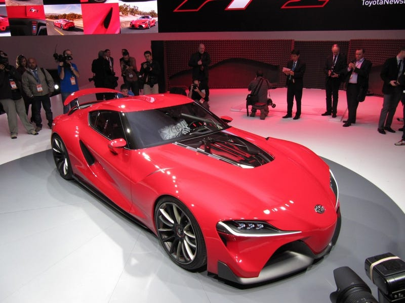 Toyota FT-1 Nose. Poll! Bump because of tie.