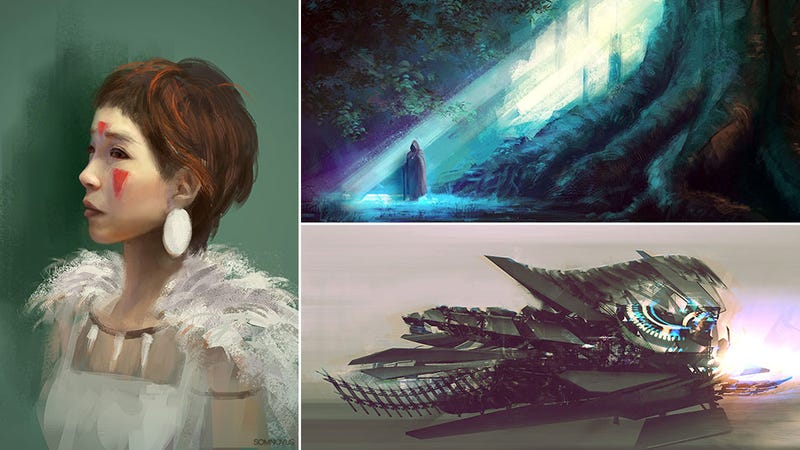 The Real Princess Mononoke, And Other Dreamy Pieces Of Art