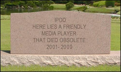 Happy Birthday iPod, You're Doomed