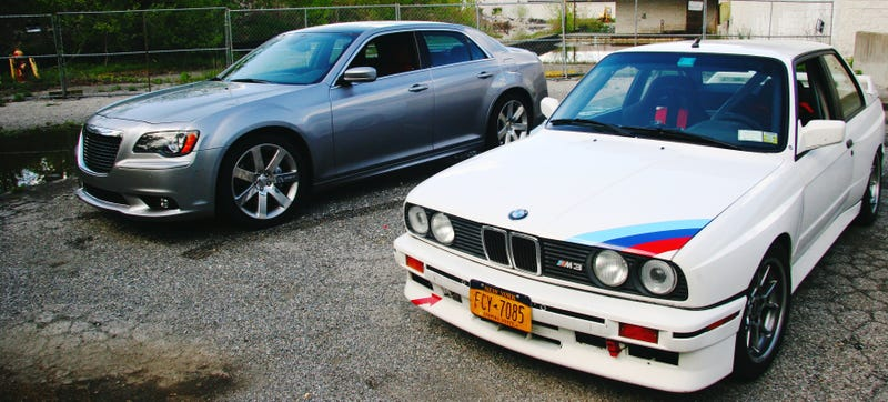 Chrysler 300 SRT vs BMW E30 M3: Can The Big Boat Keep Up?