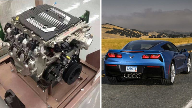 Is This The 2015 Corvette Z06's Supercharged Engine?
