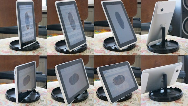 Make a Simple and Adjustable Tablet Stand from a CD Spindle