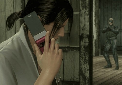 iPod, Sony Ericsson Phones Appear in Metal Gear Solid 4; No Xbox 360s to be Found