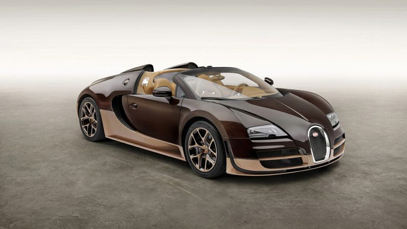Brown Bugatti Veyron Rembrandt Edition Could Be None More Brown