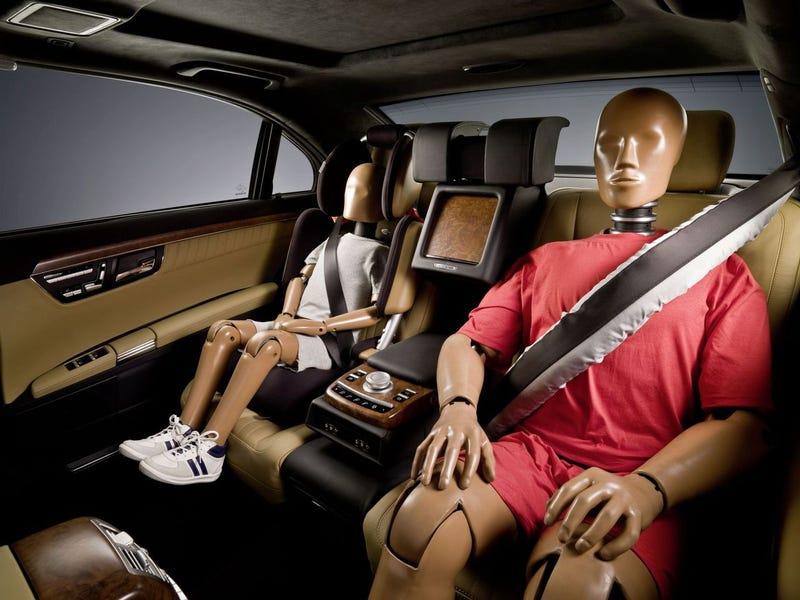 Mercedes ESF 2009 Concept, Safest Car Ever