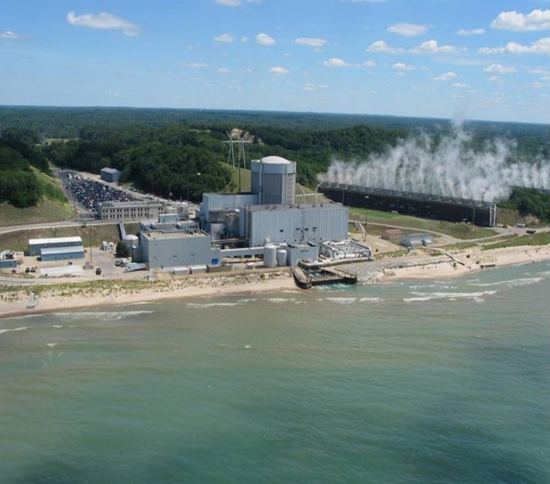 Radioactive Water Spilled Into Lake Michigan By Nuclear Plant
