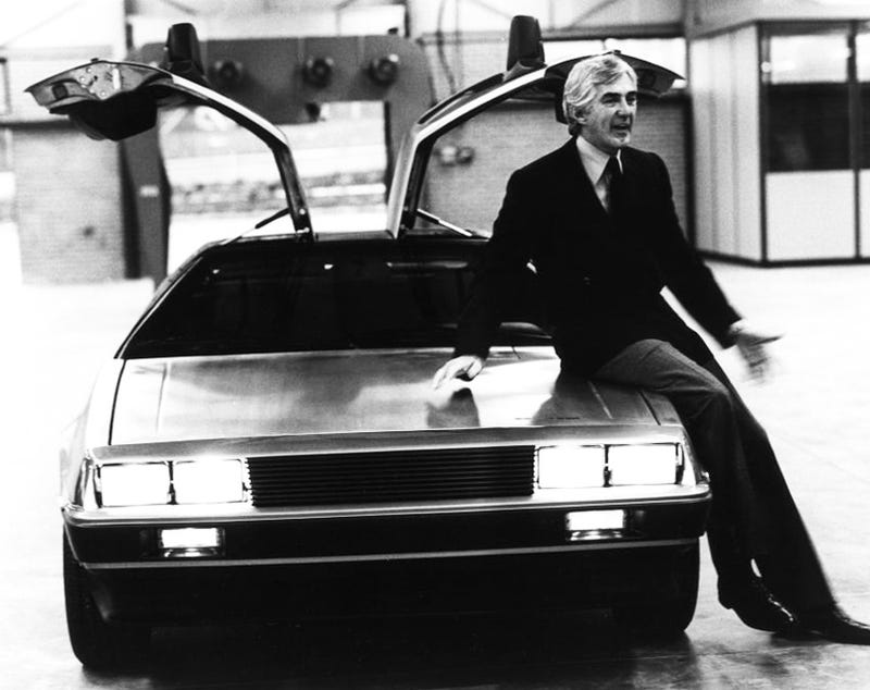 DeLorean Biopic Coming To A Theater Near You