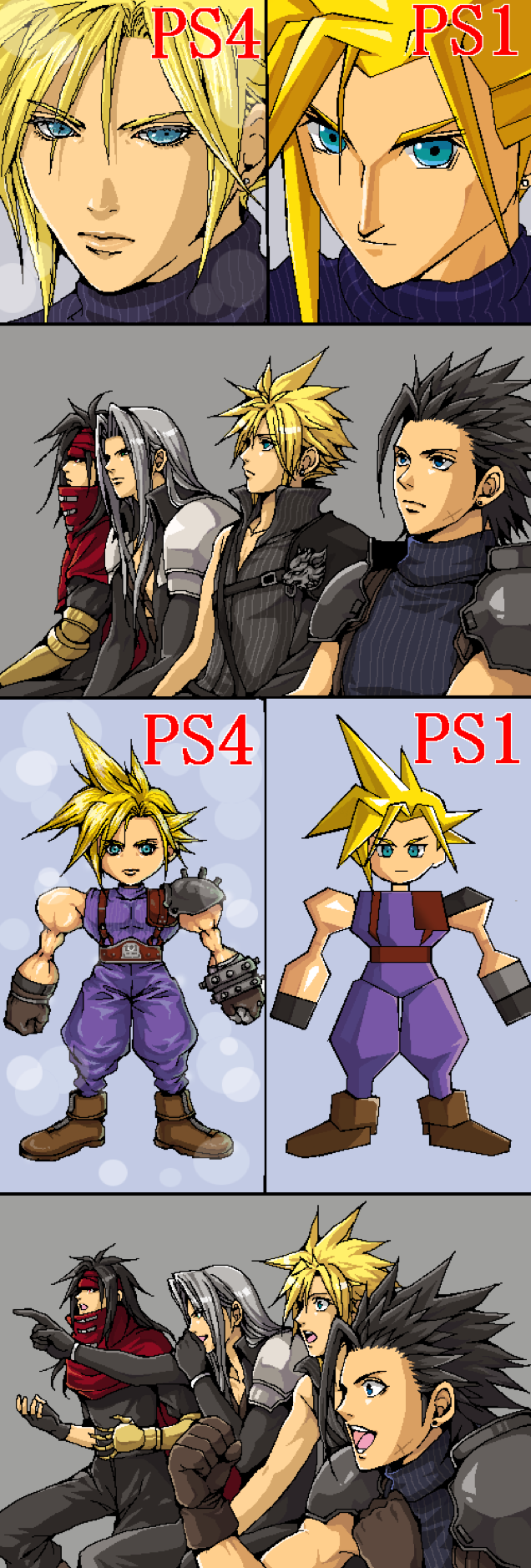 The Internet Reacts to the Final Fantasy VII Remake