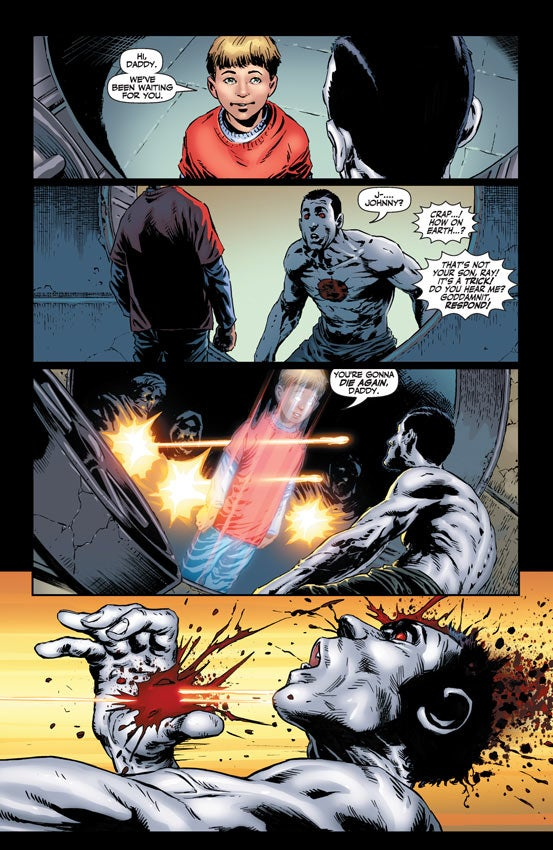 Read a sneak peek of the comic Bloodshot, about a one-man nanotech Wikileaks