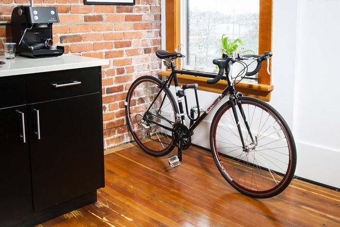 This Discreet 3D-Printed Bike Rack Appears to Defy Physics