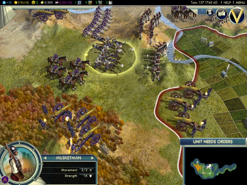 400 Turns Of Civilization V
