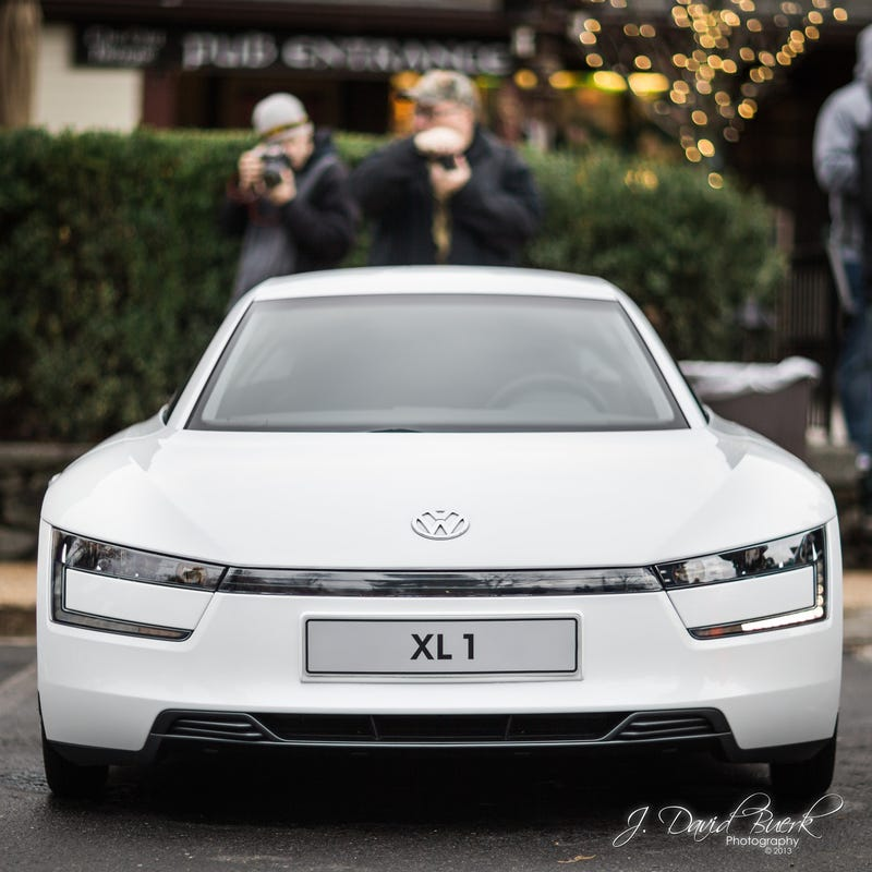 Volkswagen XL1 At Katie's Cars And Coffee: December 7th, 2013