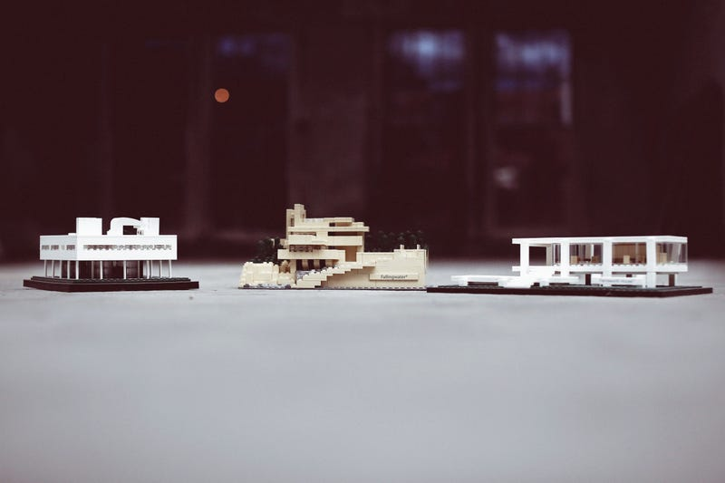 Unleash Your Inner Frank Lloyd Wright With Lego