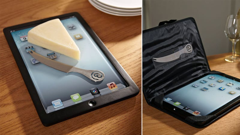 An iPad You're Actually Supposed to Cover in Crumbs