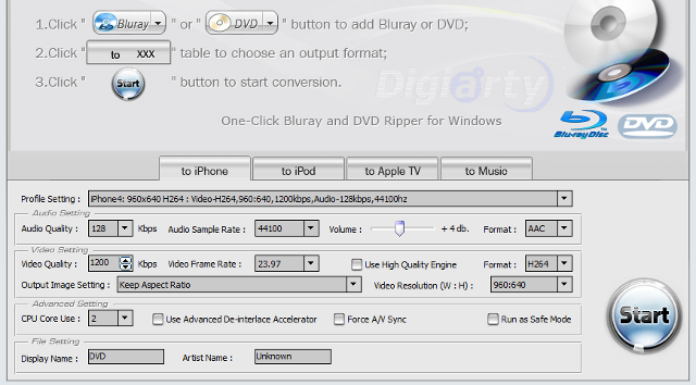 WinX Blu-ray DVD iPhone Ripper Rips Blu-Rays to Any Device in One Click, Free Until January 10th