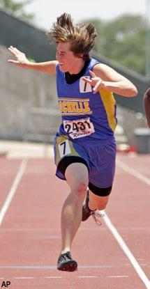 High School Track Star Wins Team Championship By Herself