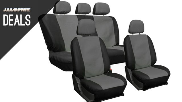 Deals: Seat Cover Set, 2.5 Ton Floor Jack, Pet Supplies