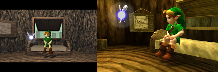 So How Much Better Does Ocarina Of Time Look On The 3DS?