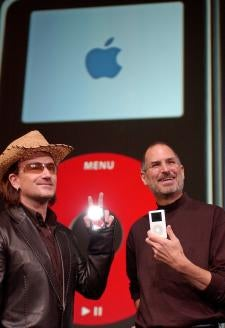Bono and Steve Jobs No Longer BFFs