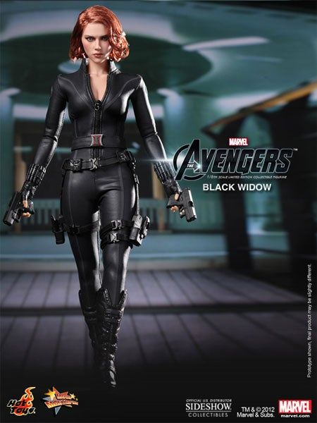 Avengers Action Figure Looks Just Like a Tiny Scarlett Johansson