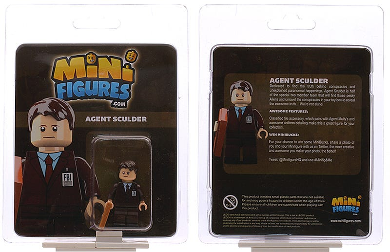 You Can Finally Buy the X-Files Minifigs That Lego Won't Make