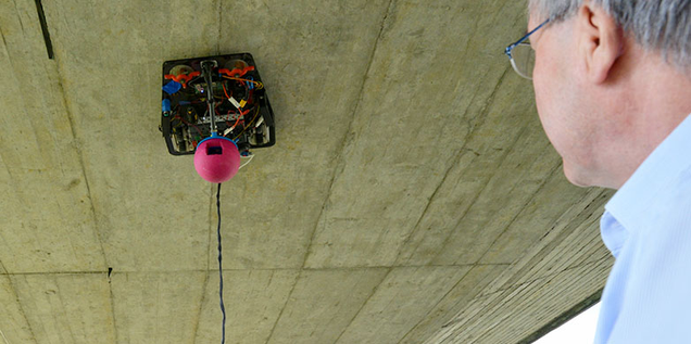 This Robotic Bridge Inspector Was Originally a Disney Camera-Bot