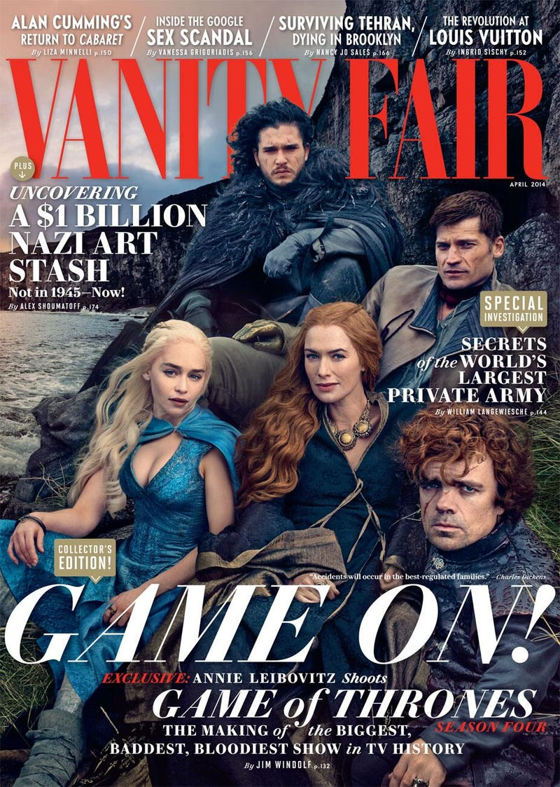 Annie Leibovitz Travels to Westeros to Shoot Game of Thrones Cast