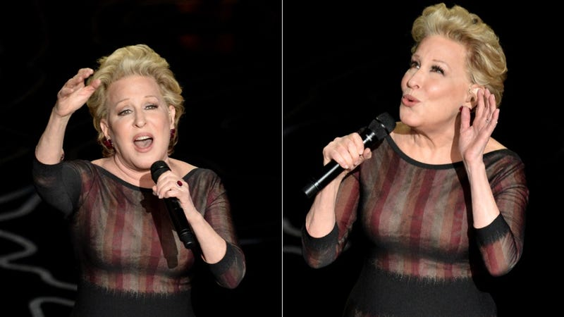 Bette Midler Suggests a Healthy New Alternative to Silicone Implants