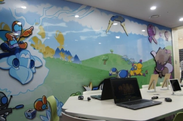 Blizzard Decorated a Children's Hospital in South Korea