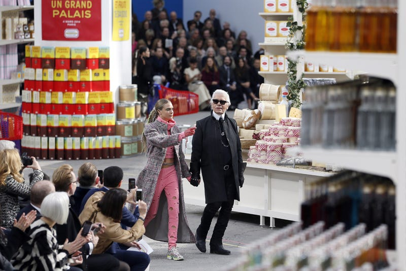 Chanel Built a Fake Supermarket Just to Host This Fashion Show