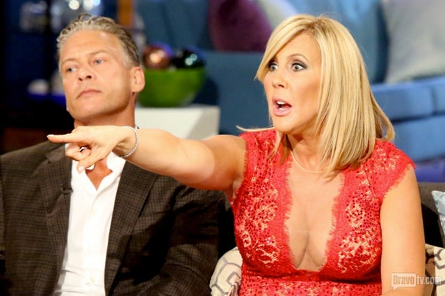 "Vicki Explains What Gay ""Looks Like"" on Real Housewives of OC Reunion"