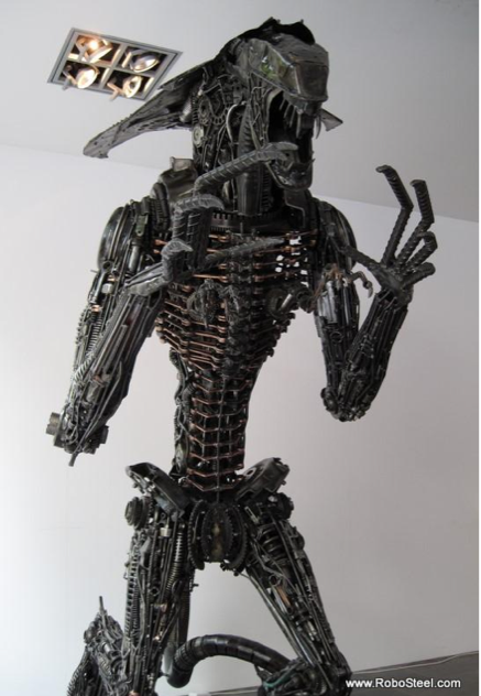 Recycled Alien Queen Is Deadly Yet Eco-Friendly