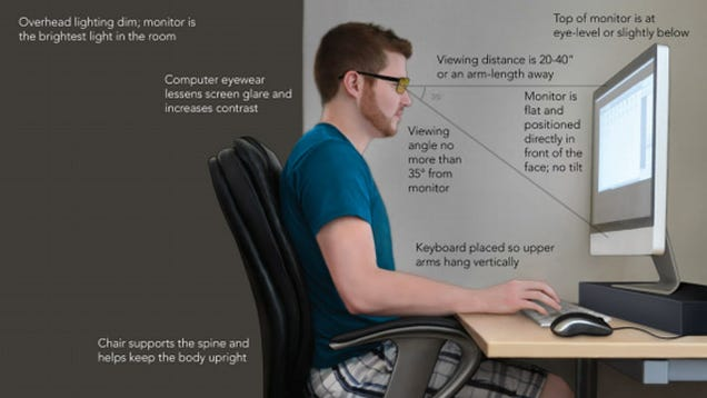 ergonomic desk plans
