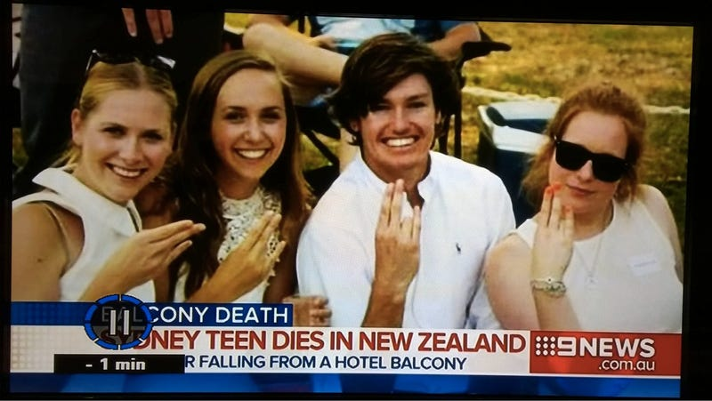 "Classy News Station Honors Dead Teen with Photo of ""The Shocker"""