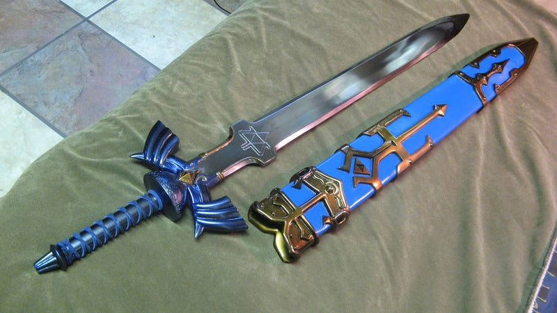 A Sword & Shield Fit For The Hero Of Time